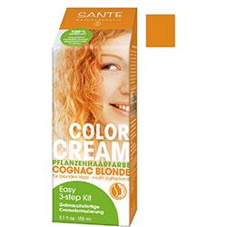 SANTE Organik Bitkisel Krem Saç Boyası (Konyak Sarısı) 150gr