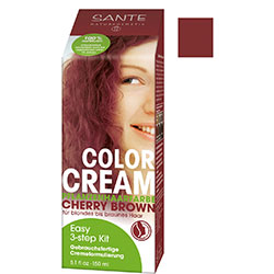 SANTE Organik Bitkisel Krem Saç Boyası (Vişne Çürüğü) 150gr
