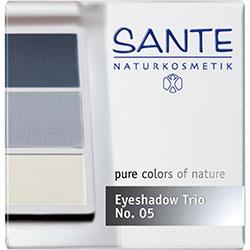 SANTE Organik Göz Farı (Trio-3 Renk) (05 Okyanus Mavisi)