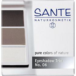 SANTE Organik Göz Farı (Trio-3 Renk) (06 Dumanlı Gözler)