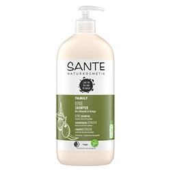 SANTE Organik Şampuanı (Aile Serisi, Ginko ve Zeytin Özlü Onarıcı Bakım) 950ml