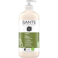 SANTE Organik Şampuanı (Aile Serisi, Ginko ve Zeytin Özlü Onarıcı Bakım) 500ml