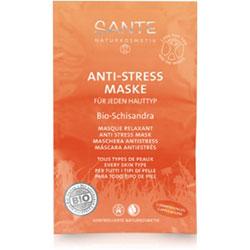 SANTE Organik Her Cilt Tipine Uygun Schisandra Özlü Anti Stres Maske 2x7,5ml