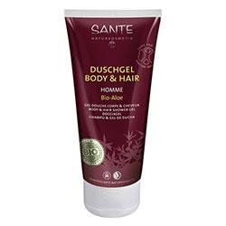 SANTE Organik Erkek Vücut ve Saç Duş Jeli (Kafein & Acai, Homme II) 200 ml
