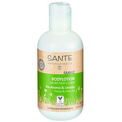 SANTE Organik Vücut Losyonu (Aile Serisi, Ananas ve Limon Özlü) 200ml
