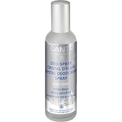 SANTE Organic Crystal Deodorant Spray Pure Spirit 100ml