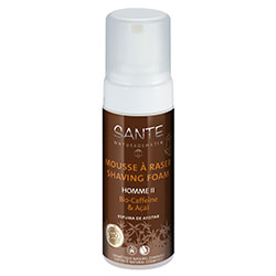 SANTE Organik Erkek Traş Köpüğü  Kafein & Acai  Homme II  150ml
