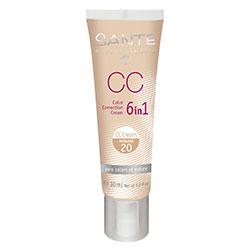 SANTE Organik CC Kream (20 Doğal) (6in1 Renk Düzgünleştirici) 30ml