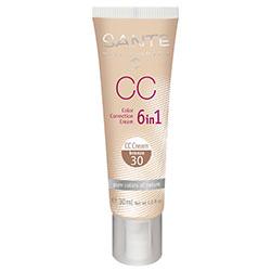 SANTE Organik CC Kream (30 Bronz) (6in1 Renk Düzgünleştirici) 30ml
