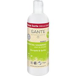 SANTE Organik Günlük Şampuan (Aile Serisi, Elma ve Ayva Özlü) 300ml