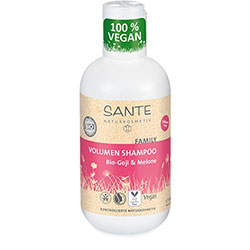 SANTE Organik Hacim Veren Şampuan (Aile Serisi, Kurt Üzümü & Karpuz Özlü) 200ml