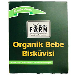 Secret Farm Organik Bebek Bisküvisi 150g