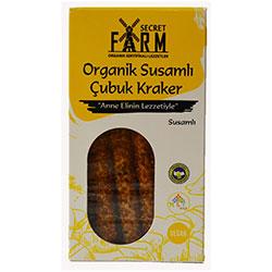 Secret Farm Organic Sesame Stick Cracker 100g