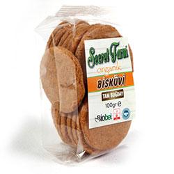 Secret Farm Organik Tam Buğday Bisküvi 100gr