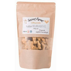 Secret Farm Organik Tuzlu Kurabiye 150gr