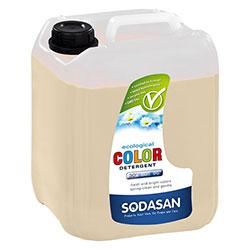 SODASAN Organik Çamaşır Yıkama Sıvısı (COLOR, Misket Limonlu) 5L
