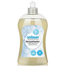 SODASAN Organik Elde Bulaşık Yıkama Sıvısı (Hassas Ciltler için Sensitive) 500ml