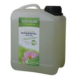 SODASAN Organik Elde Bulaşık Yıkama Sıvısı (Hassas Ciltler için Sensitive) 5L