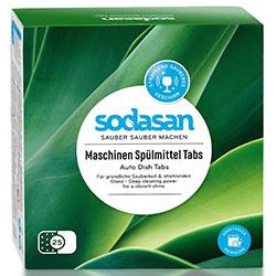 SODASAN Organik Bulaşık Makinesi Tableti 25adet
