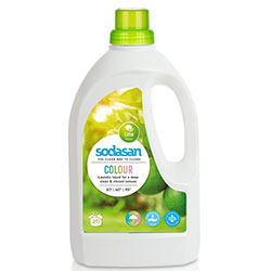 SODASAN Organik Çamaşır Yıkama Sıvısı (COLOR, Misket Limonlu) 1,5L