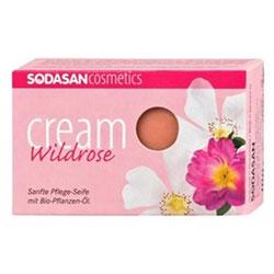 SODASAN Organik Sabun (Yaban Gülü) 100gr