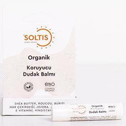 Soltis Organik Koruyucu Dudak Balmı 5ml