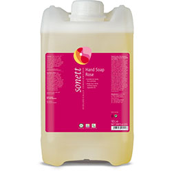 Sonett Organik Sıvı El Sabunu Gül 10L