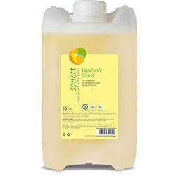 Sonett Organik Sıvı El Sabunu Citrus (Limon) 10L