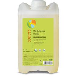 Sonett Organik Elde Bulaşık Yıkama Sıvısı (Limonlu) 5L