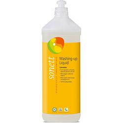 Sonett Organik Elde Bulaşık Yıkama Sıvısı  Portakal ve Aynısefa  1L