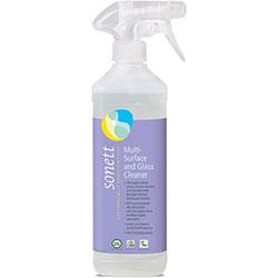 Sonett Organic Multi-Surface and Glass Cleaner 500ml
