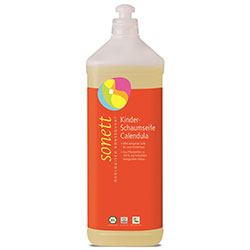 Sonett Organic Foam Soap Calendula For Kids 1L