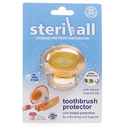 Steriball Diş Fırçası Koruyucu Hijyenik Kap (Turuncu)