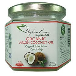 Ayhan Ercan Superfoods Organik Hindistan Cevizi Yağı 300gr
