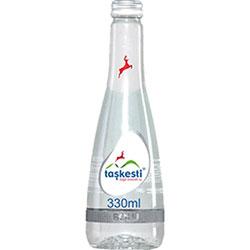 Taşkesti Doğal Mineralli Su 330ml (Cam Şişe)