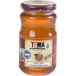 TEMA Organik Yayla (Süzme Çiçek) Balı 480gr