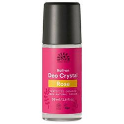 Urtekram Organik Kristal Deo Roll-on  Gül  50ml