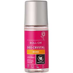 Urtekram Organik Kristal Deo Roll-on  Gül  50ml