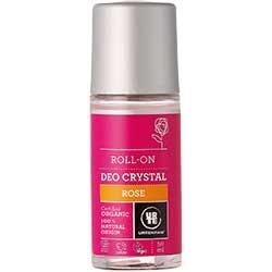 Urtekram Organik Kristal Deo Roll-on (Gül) 50ml