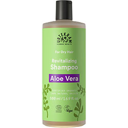 Urtekram Organik Şampuan  Aloe Vera Özlü  Kuru Saçlar  500ml