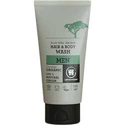 Urtekram Organik Erkekler İçin Saç ve Vücut Duş Jeli 150ml