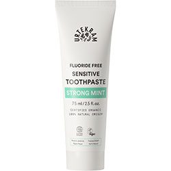 Urtekram Organic Strong Mint Sensitive Toothpaste 75ml