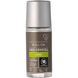Urtekram Organik Kristal Deo Roll-on  Yeşil Limonlu  Lime  50ml
