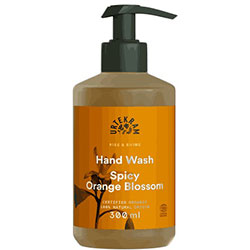 Urtekram Organic Rise & Shine Liquid Hand Soap  Spicy Orange Blossom  300ml