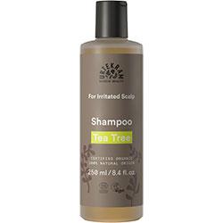 Urtekram Organic Shampoo  Tea Tree  Irritated Scalp  250ml