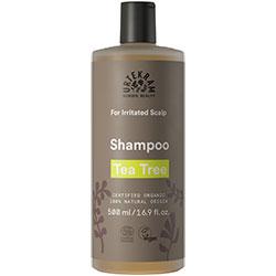 Urtekram Organic Shampoo  Tea Tree  Irritated Scalp  500ml