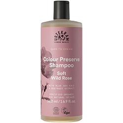 Urtekram Organik Şampuan  Soft Wild Rose  Renk Koruyucu  500ml