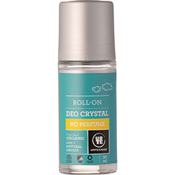 Urtekram Organic Deo Crystal Roll-on  No Perfume  50ml