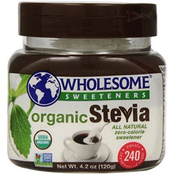Wholesome Sweeteners Organic Stevia - 120 gr