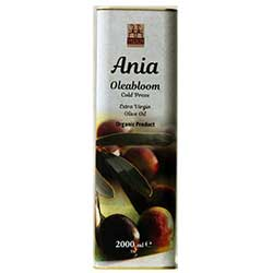 Yerlim Organic Ania Alaca  Oleabloom  Cold Press Olive Oil 2000ml  Tin